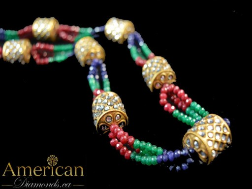 Multi Dholki Necklace