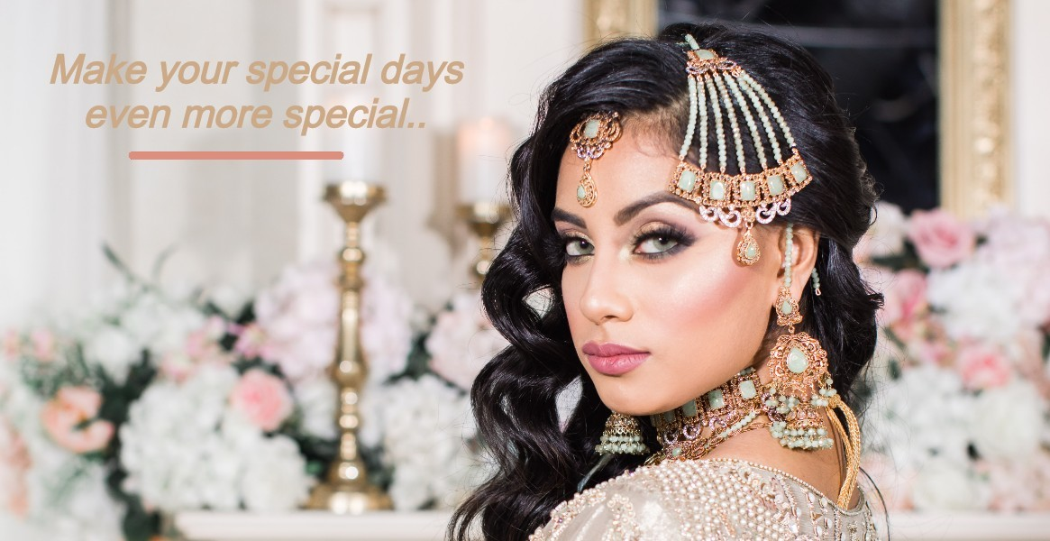 Pakistani and Indian Bridal jewelry